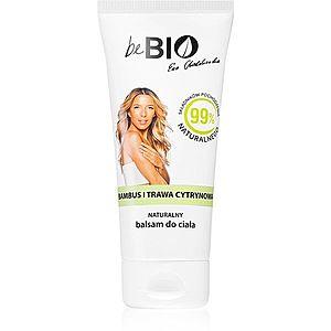 beBIO Bamboo & Lemongrass hydratační tělové mléko 200 obraz