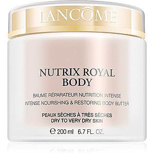 Lancôme Nutrix Royal Body intenzivně vyživující a obnovující krém pro suchou až velmi suchou pokožku 200 ml obraz