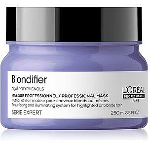 L'Oréal Professionnel Serie Expert Blondifier regenerační a obnovující maska pro blond a melírované vlasy 250 ml obraz