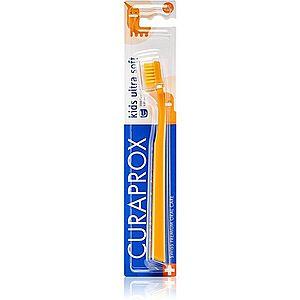 Curaprox 5500 Kids Ultra Soft zubní kartáček pro děti ultra soft Orange obraz