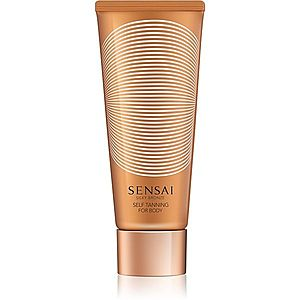 Sensai Silky Bronze Self Tanning For Body samoopalovací gel na tělo 150 ml obraz