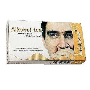 Alkohol test ze slin 5 ks obraz
