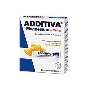 Additiva Magnesium Direct 375 mg pomeranč 20 sáčků obraz