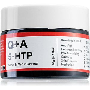 Q+A 5-HTP zpevňující protivráskový krém na obličej 50 g obraz
