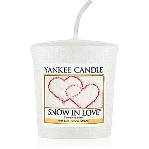 Yankee Candle Snow in Love votivní svíčka 49 g obraz