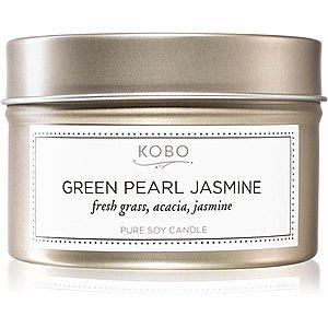KOBO Coterie Green Pearl Jasmine vonná svíčka v plechovce 113 g obraz