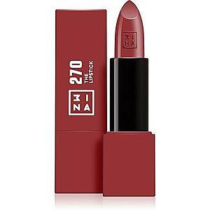 3INA The Lipstick rtěnka odstín 270 Wine Red 4, 5 g obraz